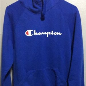 Women's long sleeve Champion hoodie